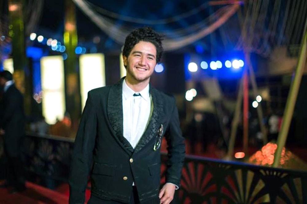 النجم أحمد مالك في دبي السينمائي ضمن برنامج نجوم الغد