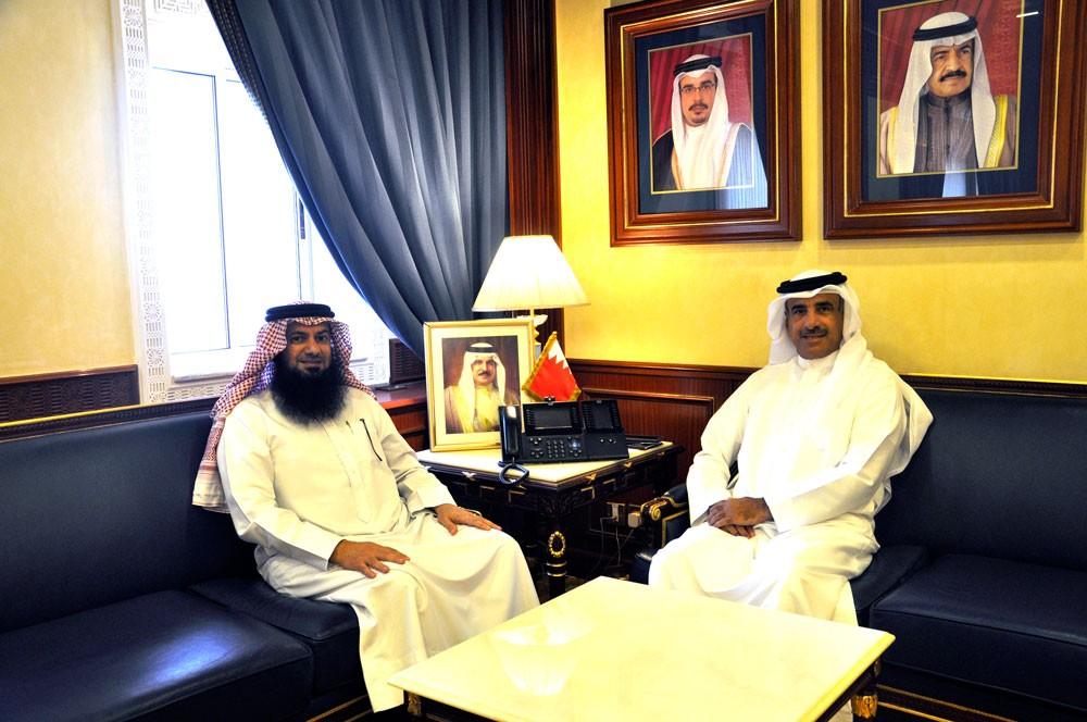 وزير الاسكان يستقبل النائب عبد الحليم مراد