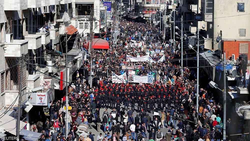 20 ألف أردني يهتفون: القدس عاصمة فلسطين