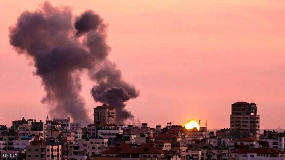 سقوط جرحى في غارة إسرائيلية على غزة