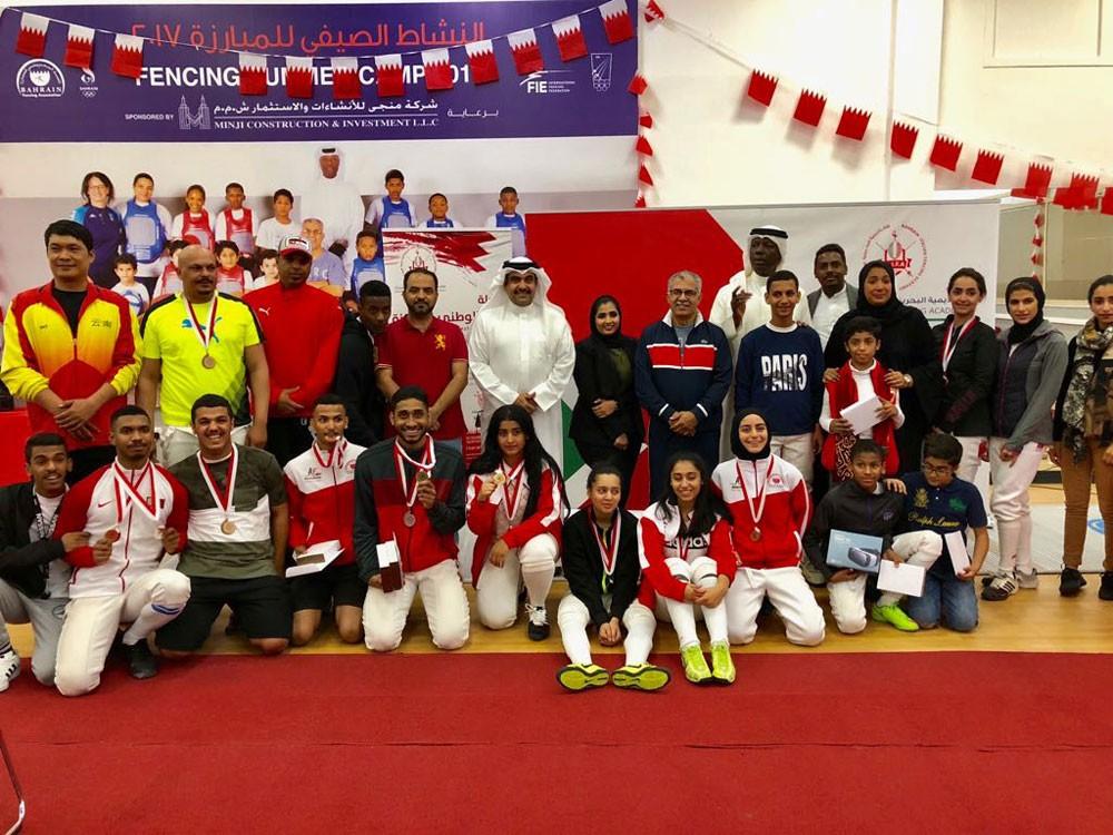 مشاركة واسعة ومنافسات قوية ببطولة العيد الوطني للمبارزة