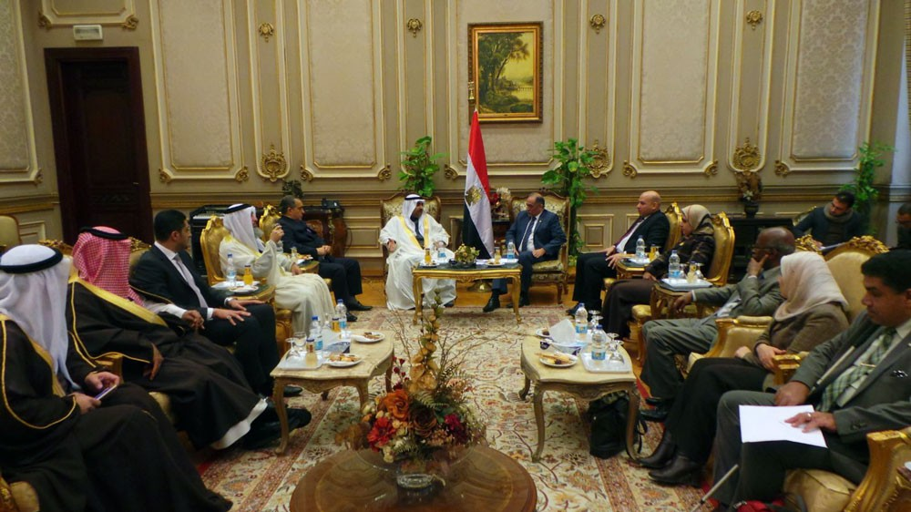 النائب العسومي: مصر صمام أمان منطقة الشرق الأوسط ونبض الأمة العربية