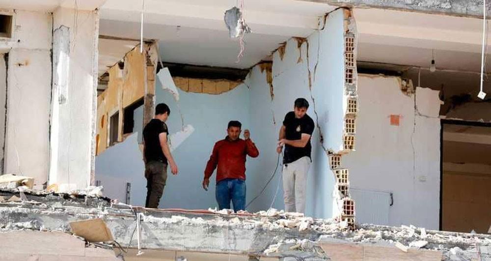 6 زلازل تهز الحدود العراقية الإيرانية