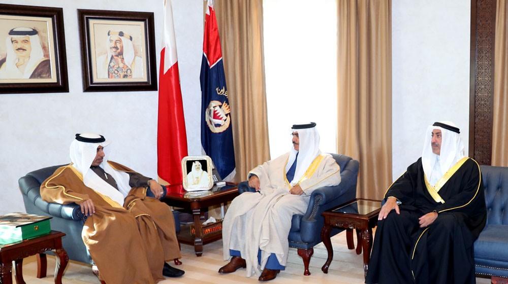 وزير الداخلية يستقبل الأمين العام لمجلس وزراء الداخلية العرب