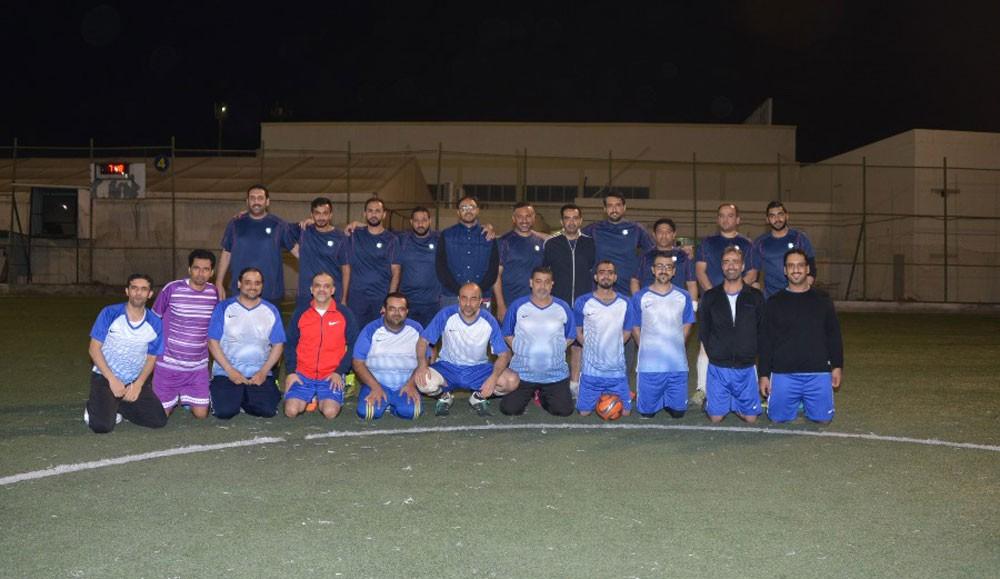 انطلاق منافسات بطولة وزير الصناعة والتجارة والسياحة الثالثة لكرة القدم
