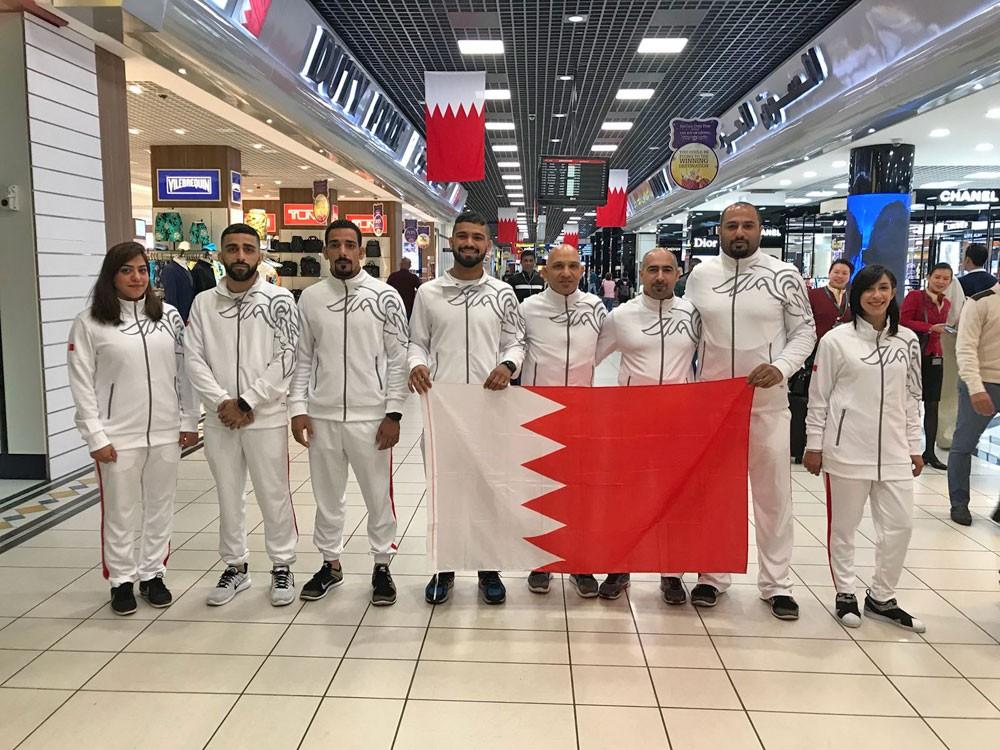 منتخب الجوجيتسو يصل الامارات للمشاركة في بطولة أبوظبي جراند سلام