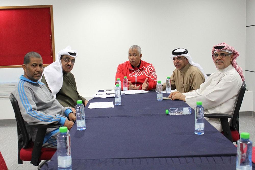 لجنة الحكام باتحاد الطاولة تعقد اجتماعاً لها وتستعد لانطلاق القسم الثاني