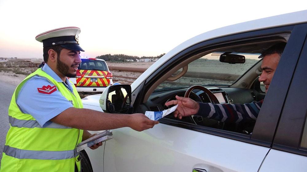 شرطة الجنوبية تكثف دورياتها بمنطقة البر وتنفذ برامج توعوية