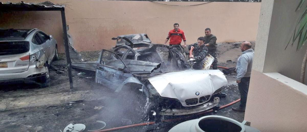 إصابة فلسطيني بانفجار سيارة في صيدا جنوبي لبنان
