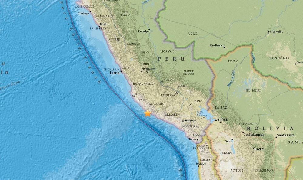 زلزال بقوة 7.3 درجة يضرب شواطئ بيرو وتحذير من تسونامي