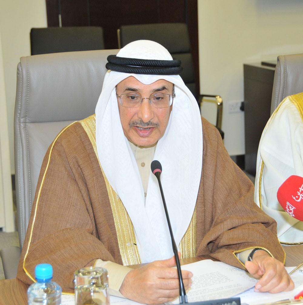 الشيخ خالد بن عبدالله يؤكد: مبدأ التوافق بين السلطتين هو المعيار الاول لتنظيم هيكلة الدعم