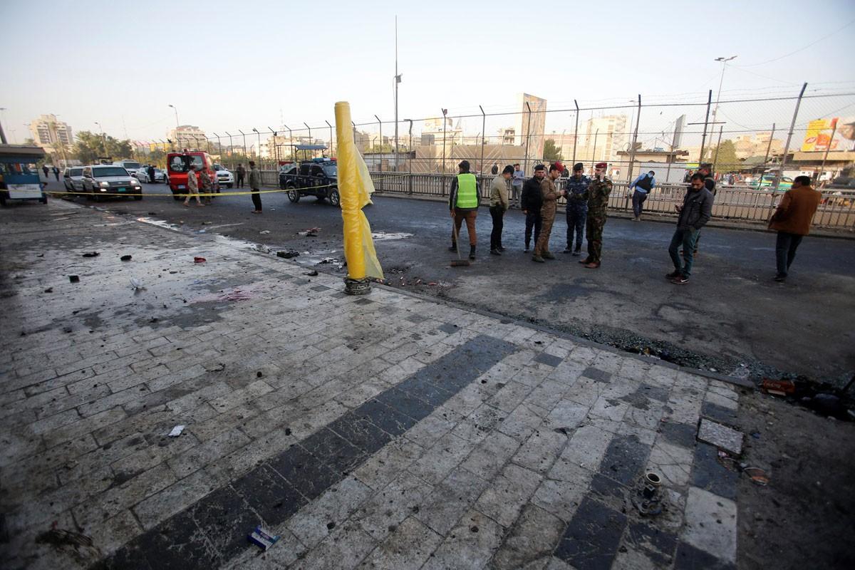 38 قتيلاً في هجوم انتحاري مزدوج وسط بغداد