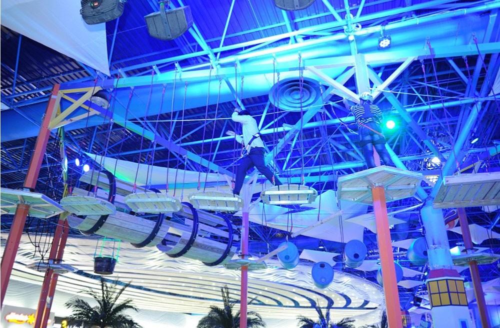 مجمع السيف يفتتح منطقة ألعاب خارجية تابعة لمجك آيلاند