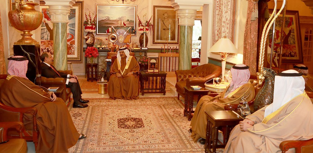 الملك يتلقى دعوة من الملك عبدالله الثاني لزيارة الاردن