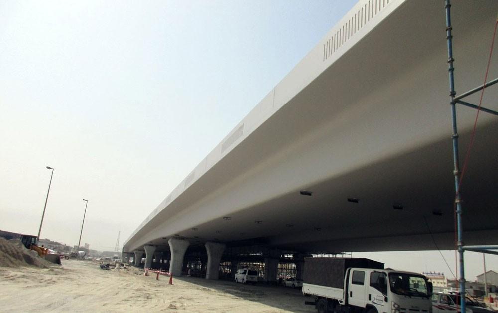 وزارة الاشغال : أعمال مشروع تطوير تقاطع (ألبا) ستشهد تنفيذ تحويلات مرورية مؤقتة