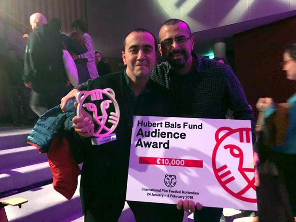 التقارير حول ساره وسليم للأخوين عليان يفوز بجائزة الجمهور (هوبرت بالس)