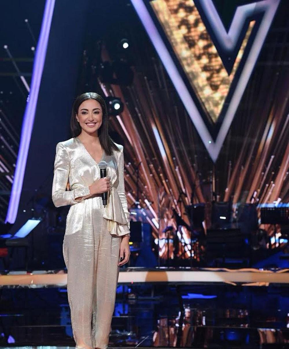 ناردين فرج تبدأ تقديم حلقات برنامج The Voice يوم 10 فبراير