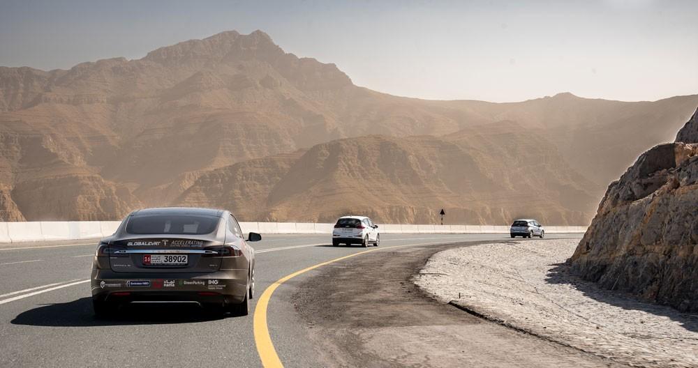 رحلة إفرت للسيارات الكهربائية 2018 في الشرق الأوسط تختتم 9 أيام من الإثارة