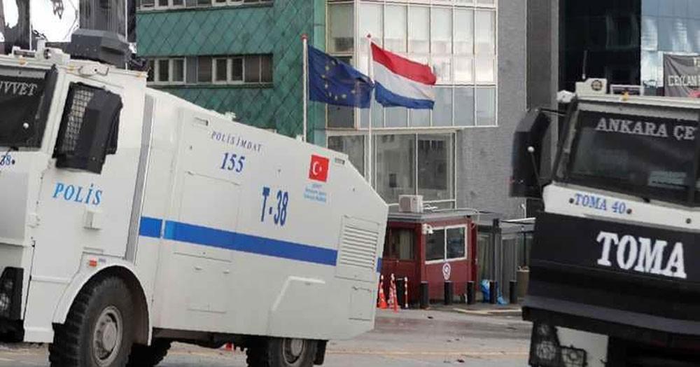 هولندا تسحب سفيرها رسميا من تركيا
