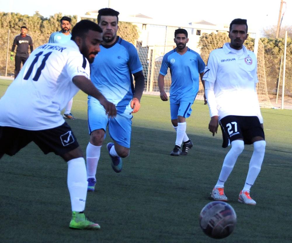 جارمكو يعبر أجواء تطوير بصعوبة ويصعد إلى نهائي كأس بابكو للشركات الكروية