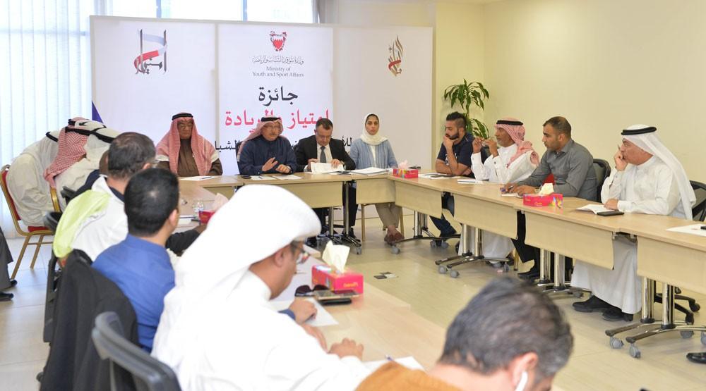 عسكر ينقل توجيهات ناصر بن حمد الى الاتحادات الرياضية