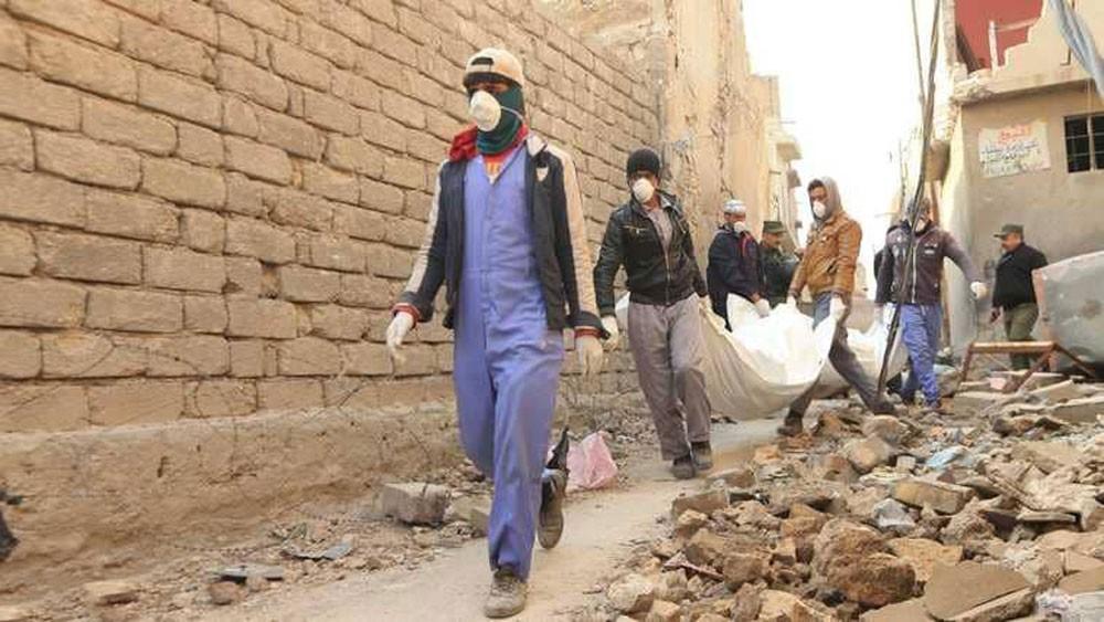 حرب الجثث تستعر في شوارع الموصل