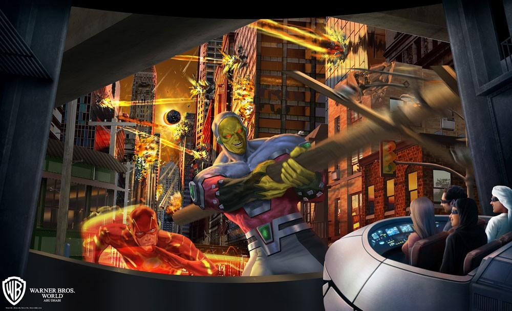 عالم وارنر براذرز أبوظبي يكشف عن بعض الألعاب والمرافق الترفيهية