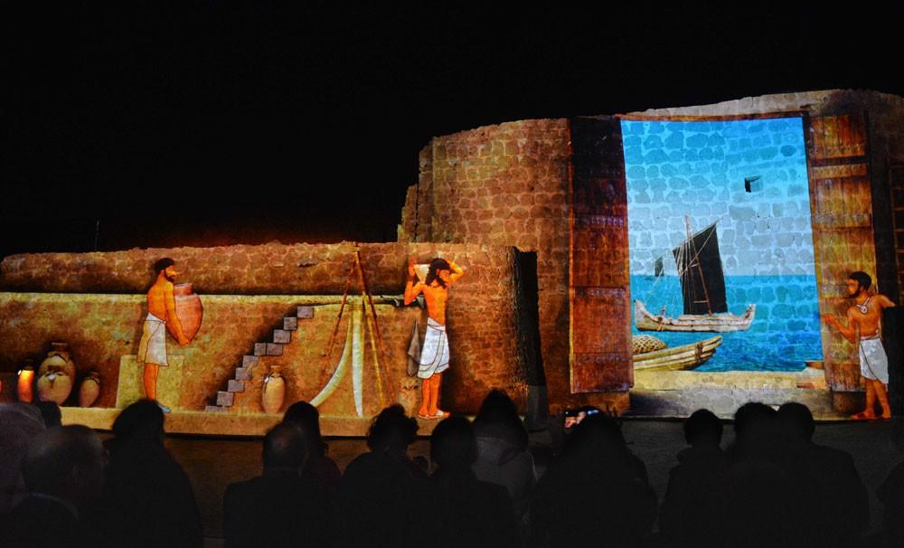 عرض الصوت والضوء متاح للجمهور 3 أيام أسبوعياً بقلعة البحرين