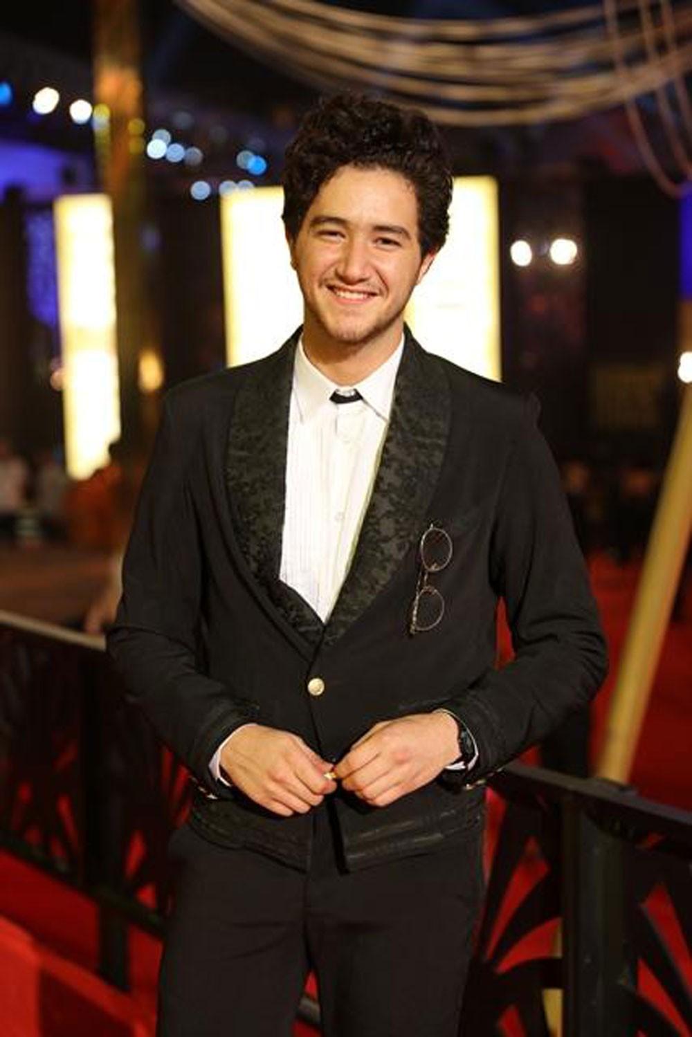 أحمد مالك أفضل ممثل دور ثاني في مهرجان جمعية الفيلم السنوي للسينما المصرية