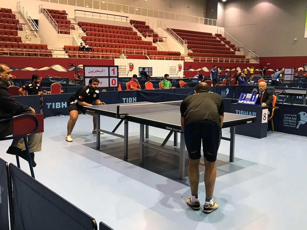 انتصار البحرين والبسيتين والاتفاق بدوري العموم لكرة الطاولة