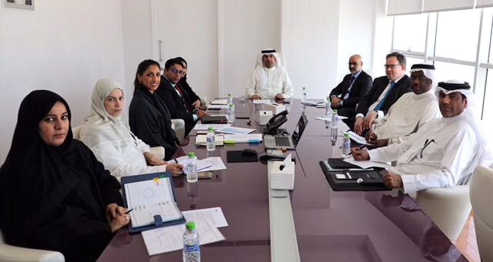 الرئيس التنفيذي للمجلس الأعلى للبيئة يترأس اجتماع اللجنة المشتركة لتغير المناخ