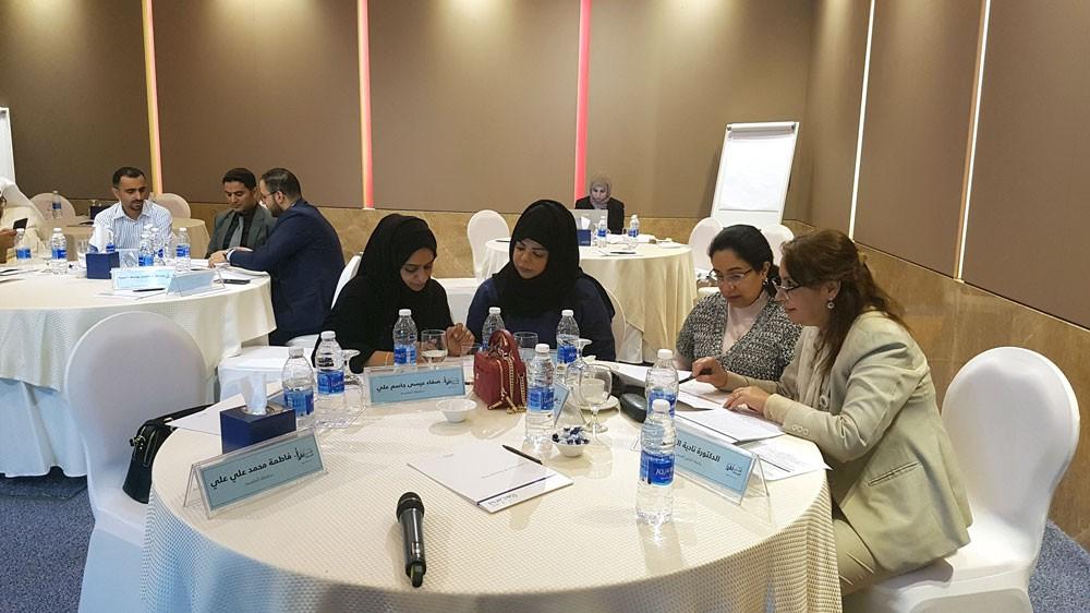 """جامعة الخليج العربي تشارك في ورشة """"المدن الصحية"""""""
