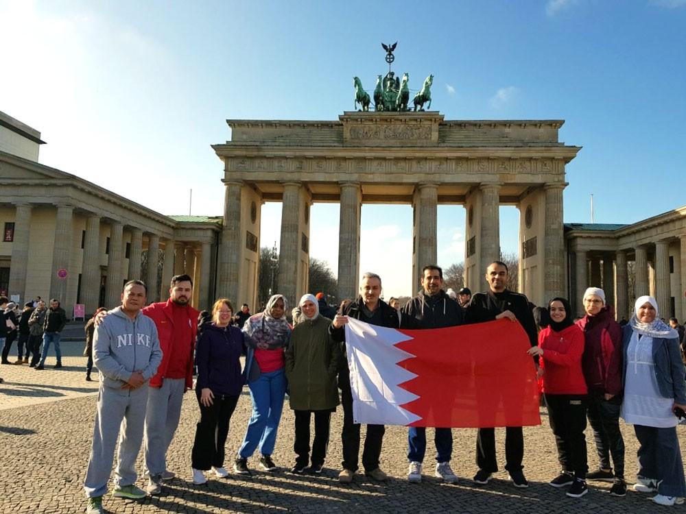 سفارة البحرين ببرلين تنظم فعالية بمناسبة اليوم الرياضي