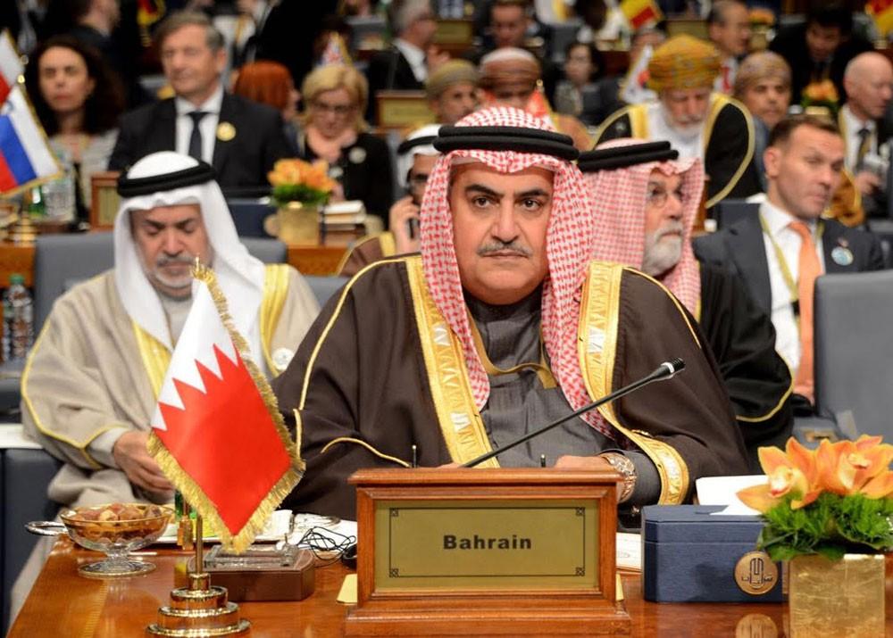 وزير الخارجية: البحرين ملتزمة بالتحالف الدولي ضد داعش