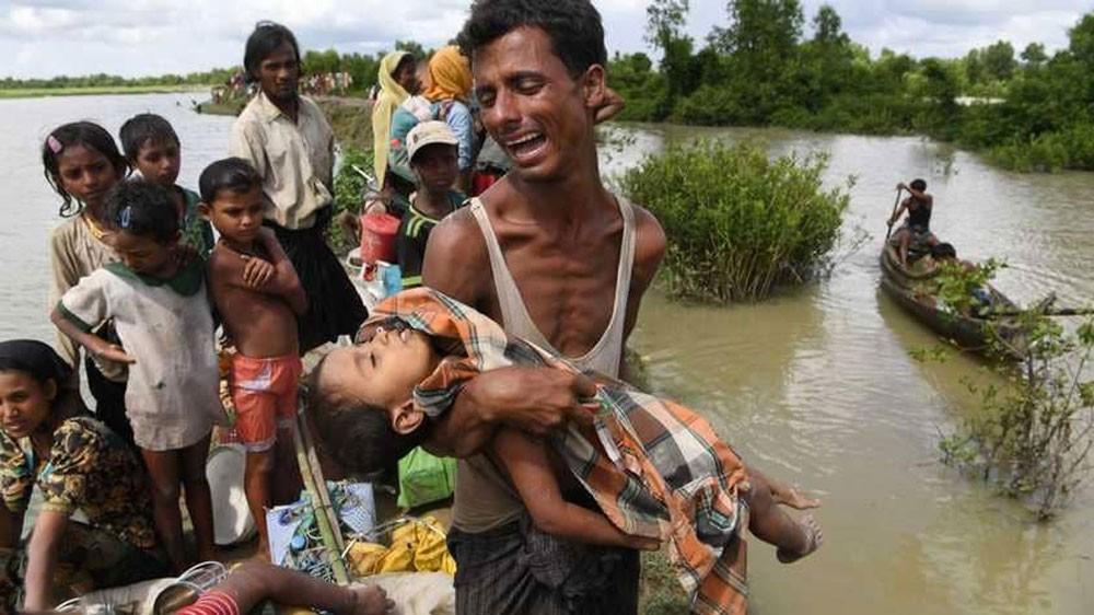الروهينغا يدعون أوروبا للضغط على ميانمار لوقف التطهير العرقي