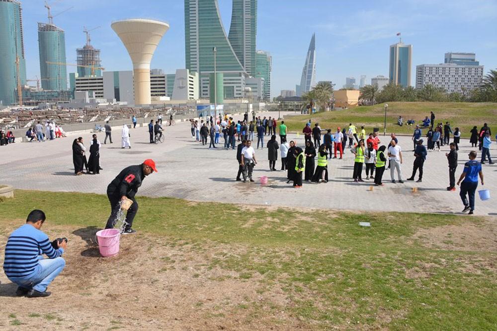 وزارة الصناعة تنظم مجموعة فعاليات رياضية بمناسبة اليوم الرياضي