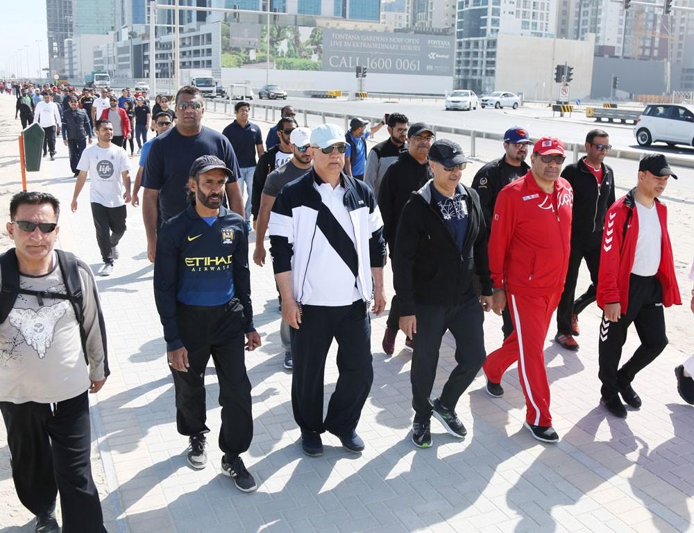 محافظ العاصمة: يوم البحرين الرياضي يترجم دعم الحكومة لرفع مستوى الصحة