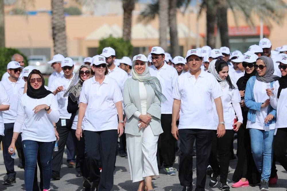 جيبك تنظم يوماً للمشي بمناسبة يوم البحرين الرياضي