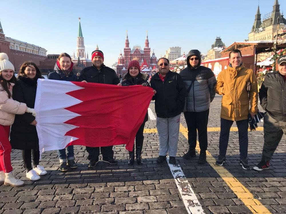 سفارة البحرين لدى روسيا تحتفل باليوم الرياضي