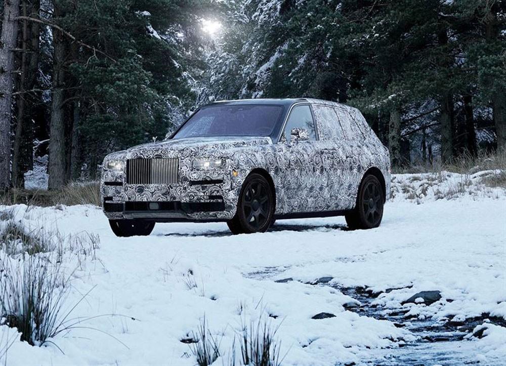 كولينان الاسم الرسمي لسيارة رولز-رويس الجديدة ذات الهيكل المرتفع