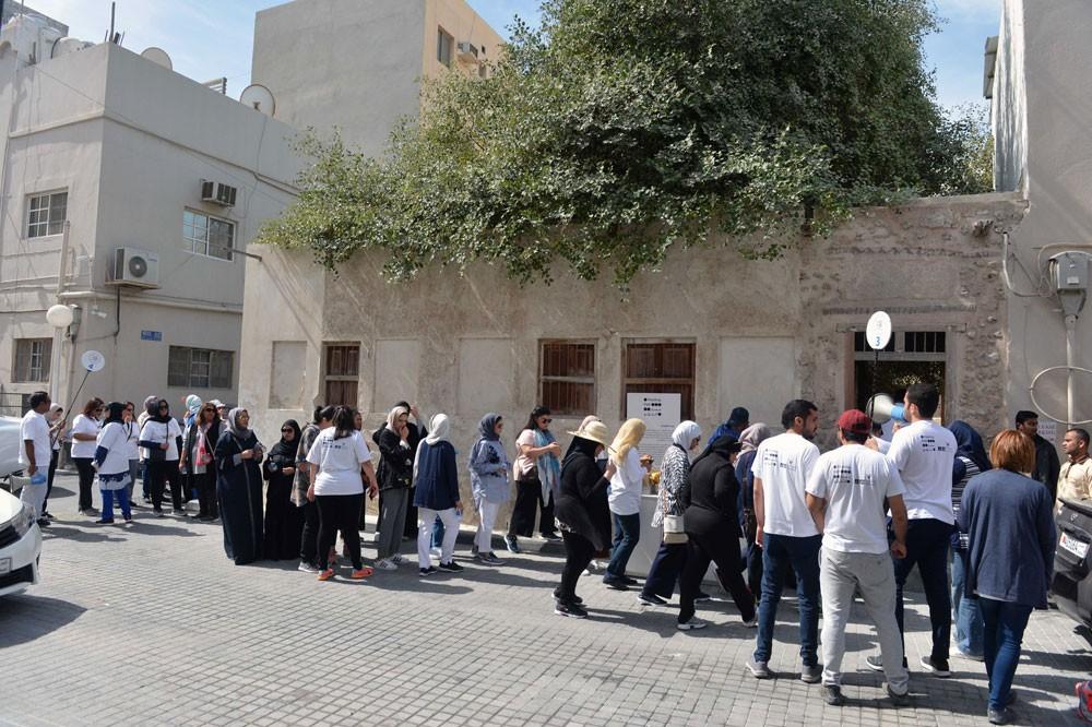 هيئة البحرين للثقافة والآثار تشارك في يوم البحرين الرياضي