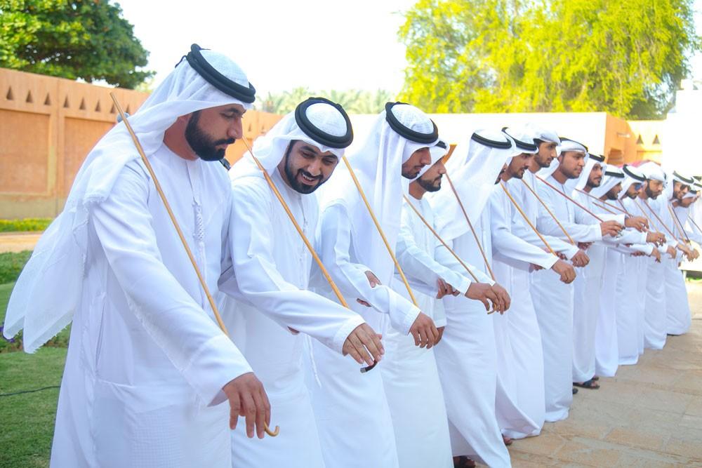 """فنون أداء الخليج في ختام """"تراثي مسؤوليتي"""""""