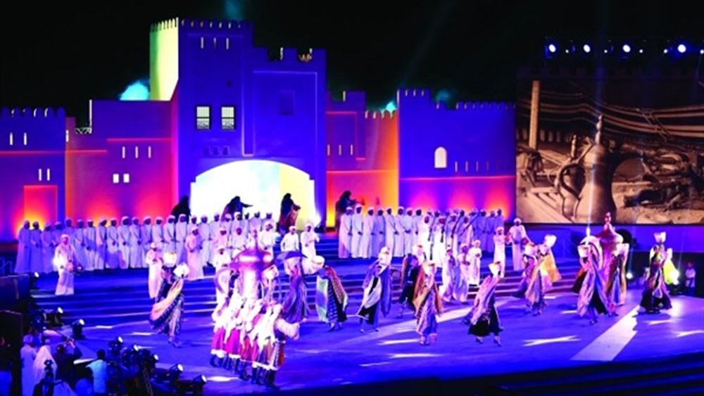 البحرين في مهرجان الفجيرة الدولي للفنون