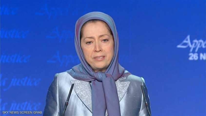 رجوي : من حق الإيرانيات إسقاط النظام