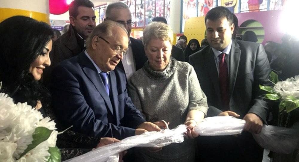 افتتاح مدرسة روسية في لبنان