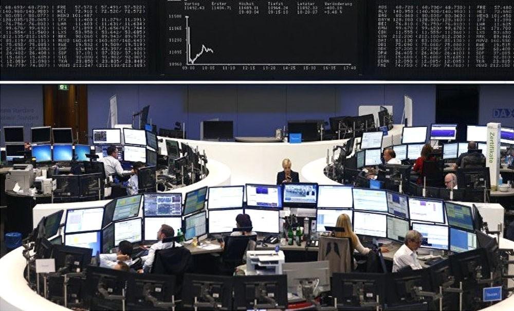 تراجع الأسهم الأوروبية بسبب بيانات غير متوقعة عن الشركات الألمانية