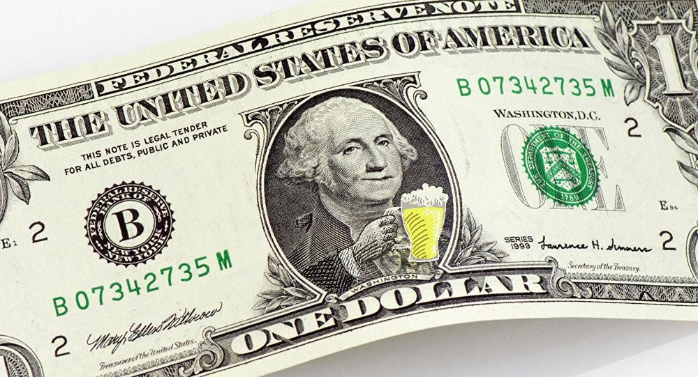 ارتفاع الدولار وتراجع أسعار الذهب