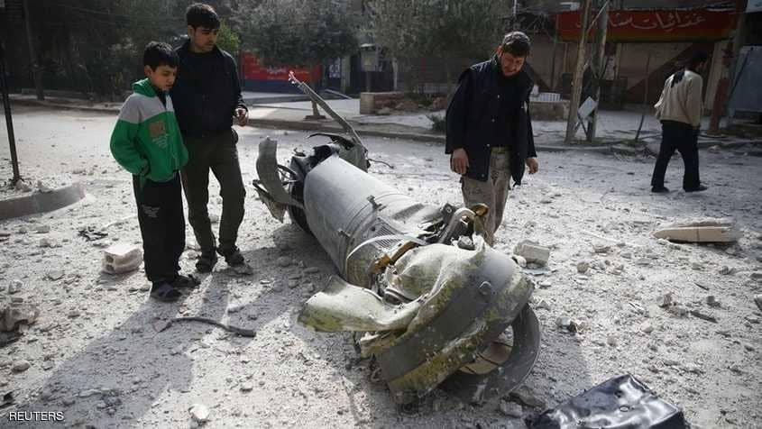 """ترامب يدين """"العار السوري الروسي الإيراني"""" في الغوطة"""