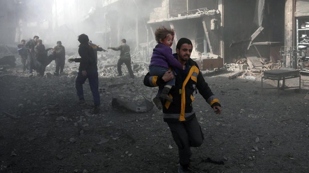 قبل تصويت مجلس الأمن.. صواريخ النظام تتجدد على الغوطة