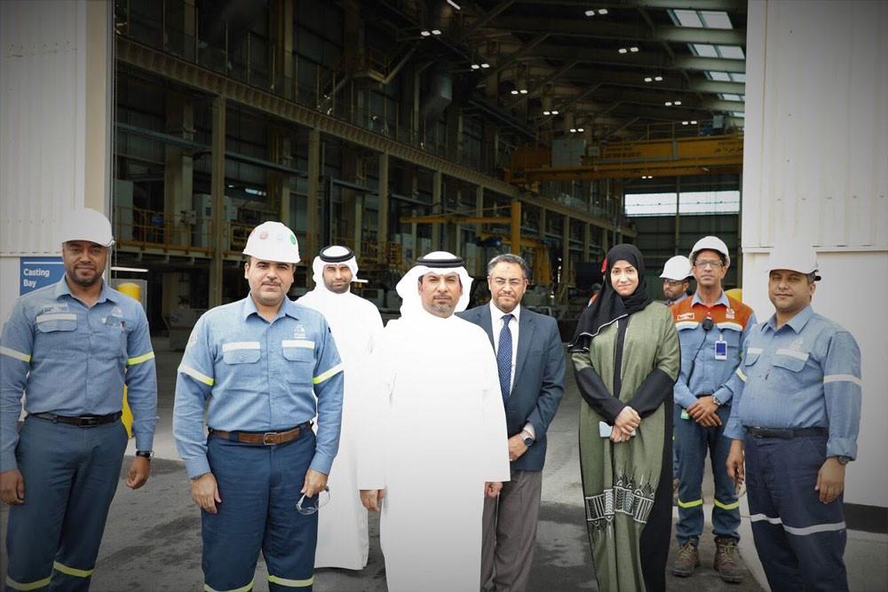 الرئيس التنفيذي للمجلس الأعلى للبيئة يزور شركة (جارمكو) ويطلع على مشروع التوسعة